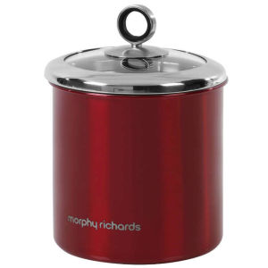 Morphy Richards Accents Large Storage Canister - Red