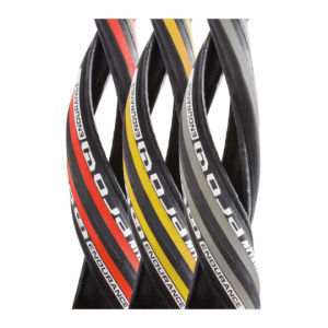 Michelin Pro 4 Endurance Clincher Road Tyre Red 700c x 23mm + FREE Inner Tube