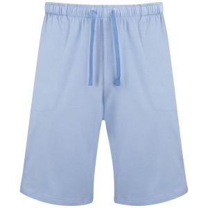 Derek Rose Men's Basel 1 French Shorts - Blue