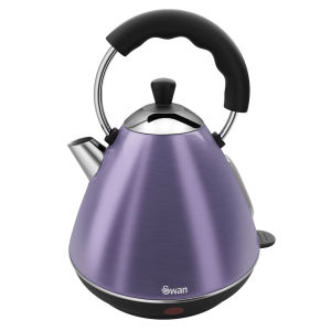 Swan 2 Litre Pyramid Kettle - Purple