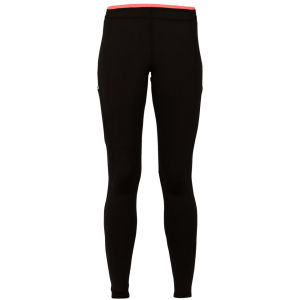 LIJA Women's Swirl Run Pants - Black/Calypso