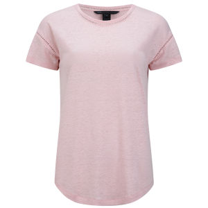 Marc by Marc Jacobs Women's Laddered T-Shirt - Adobe Pink