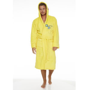 Breaking Bad Cook Suit Bathrobe - Yellow