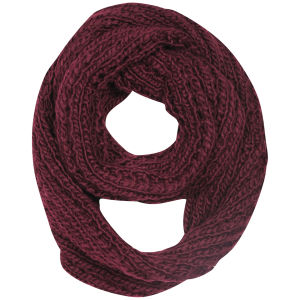 Women's Knitted Snood - Oxblood