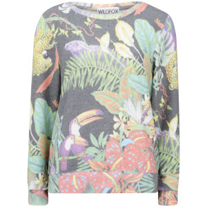 Wildfox Women's Jungle Party Sweatshirt - Multi
