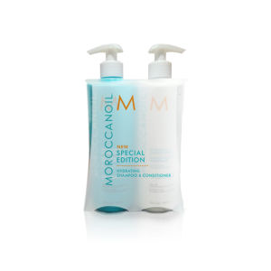 Moroccanoil Hydrating Shampoo and Conditioner 500 ml Supersize Duo