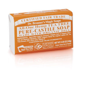Dr. Bronner Organic Green Tea Castile Liquid Soap (946ml)