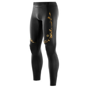 Skins A400 Active Compression Long Tights - Black/Gold