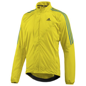 Adidas Tour Rain Jacket - Yellow/Black