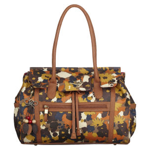 Nica Kingston Canvas Printed Shoulder Bag