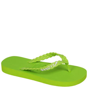 Gandys Women's Flip Flops - Goa Green