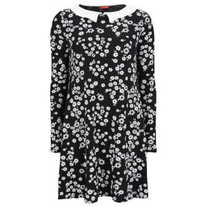 Influence Women's Daisy Print Dress - Black