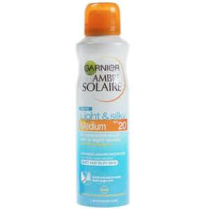 Ambre Solaire Light & Silky Mist SPF20 150ml
