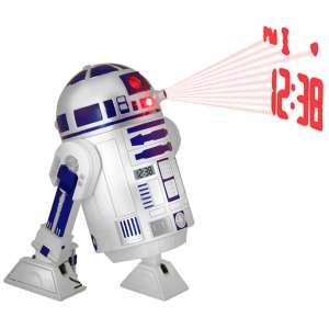 Star Wars: R2-D2 Projection Alarm Clock