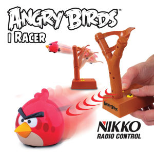 Nikko: Angry Birds Infrared Control iRacer - Red