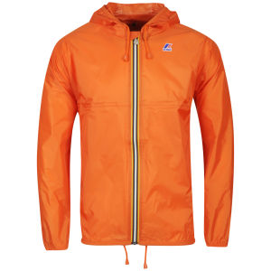 K - Way Men's Claude Classic Full Zip Jacket - Orange
