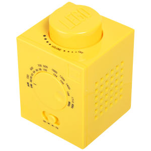 LEGO AM/FM Radio - Yellow