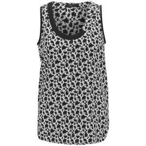 Joseph Women's Debutante Mini Blouse - Black/White