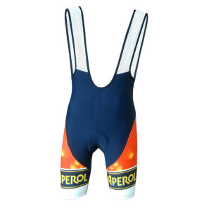 Pella Aperol Bib Shorts - Orange