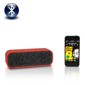 Soundlogic Bluetooth XL Sound Box Portable Speaker - Red