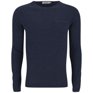 J.Lindeberg Men's Anders Shiny Knit Jumper - Indigo