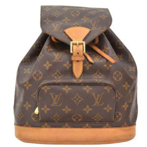 Louis Vuitton Vintage Brown Monogram Canvas Backpack