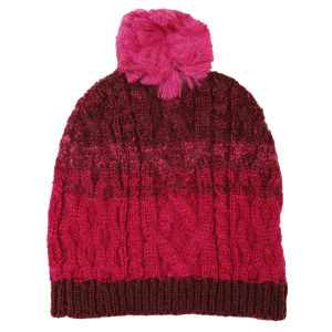 French Connection Ombre Cable Hat