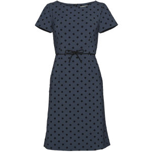Orla Kiely Women's Polka Daisy Flock Shift Dress - Ink