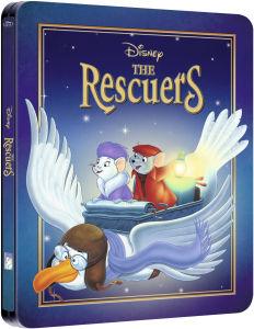 Bernard und Bianca - Die Mäusepolizei - Zavvi exklusives Limited Edition Steelbook (Disney Kollektion #22)