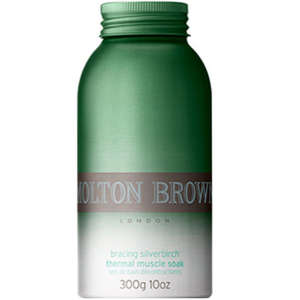 Molton Brown Bracing Silver Birch Thermal Salts Muscle Soak 300gm