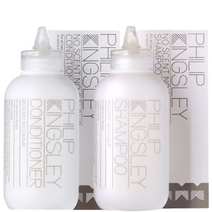 Philip Kingsley No Scent No Colour Haapflege ohne Duft & Farbstoffe Duo - Shampoo & Conditioner
