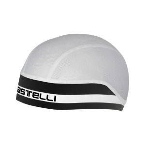 Castelli Summer Cycling Skull Cap Black/White