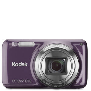 Kodak M583 Easyshare 14MP Digital Camera Purple (x8 Optical Zoom) with 4Gb Kodak SD Card - Grade A Refurb