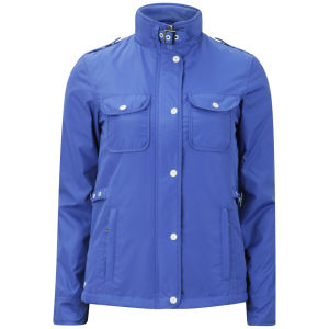 Le Breve Women's Raven Lightweight Jacket - Electric Blue