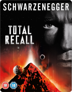 Total Recall - Limited Edition Steelbook - Triple Play (Blu-Ray, DVD and Digital Copy)