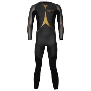 Speedo Men's Triathlon Thin Pro Wetsuit - Black/Gold