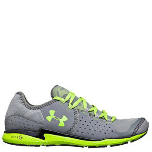 Under Armour Men's Micro G Mantis NM Running Shoes - Graphite/Black/Hyper Green