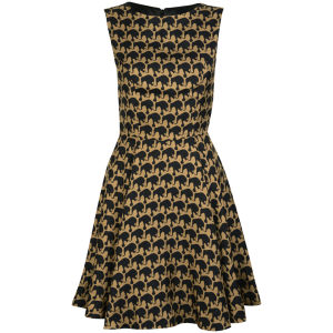 Charlotte Taylor Women's Puff Dress - Brown