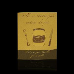 Mustard Tea Towel
