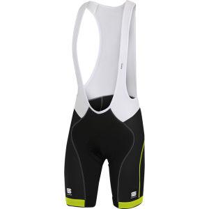 Sportful Giro Bib Shorts - Black/Yellow