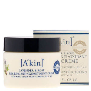 A'kin Lavender and Rose Repairing Anti-Oxidant Night Creme (50ml)