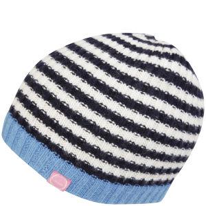 Joules Bawdy Beanie Hat - Crawford Stripe