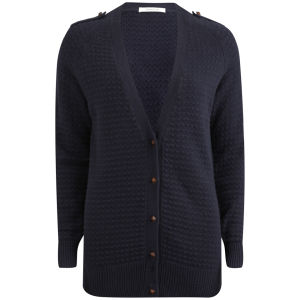 Sessun Women's Stereo Cardigan - Navy