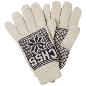 Crosshatch Men's Northstar Gloves - Navy/Off White
