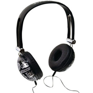 ECKO Unlimited Impact Headphones inc Mic - Black Grade A Refurb
