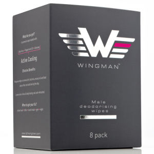 Wingman Deodorising Wipes (Pack of 8)
