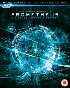 Prometheus 3D - Collector's Edition (Includes 2D Blu-Ray and Digital Copy)