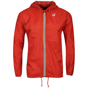K - Way Men's Claude Classic Full Zip Jacket - Red