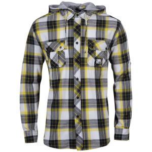 Sonneti Men's DA Hooded Shirt - Yellow