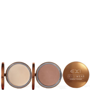 EX1 Cosmetics Invisiwear Compact Powder (9.5g) (Various Shades)